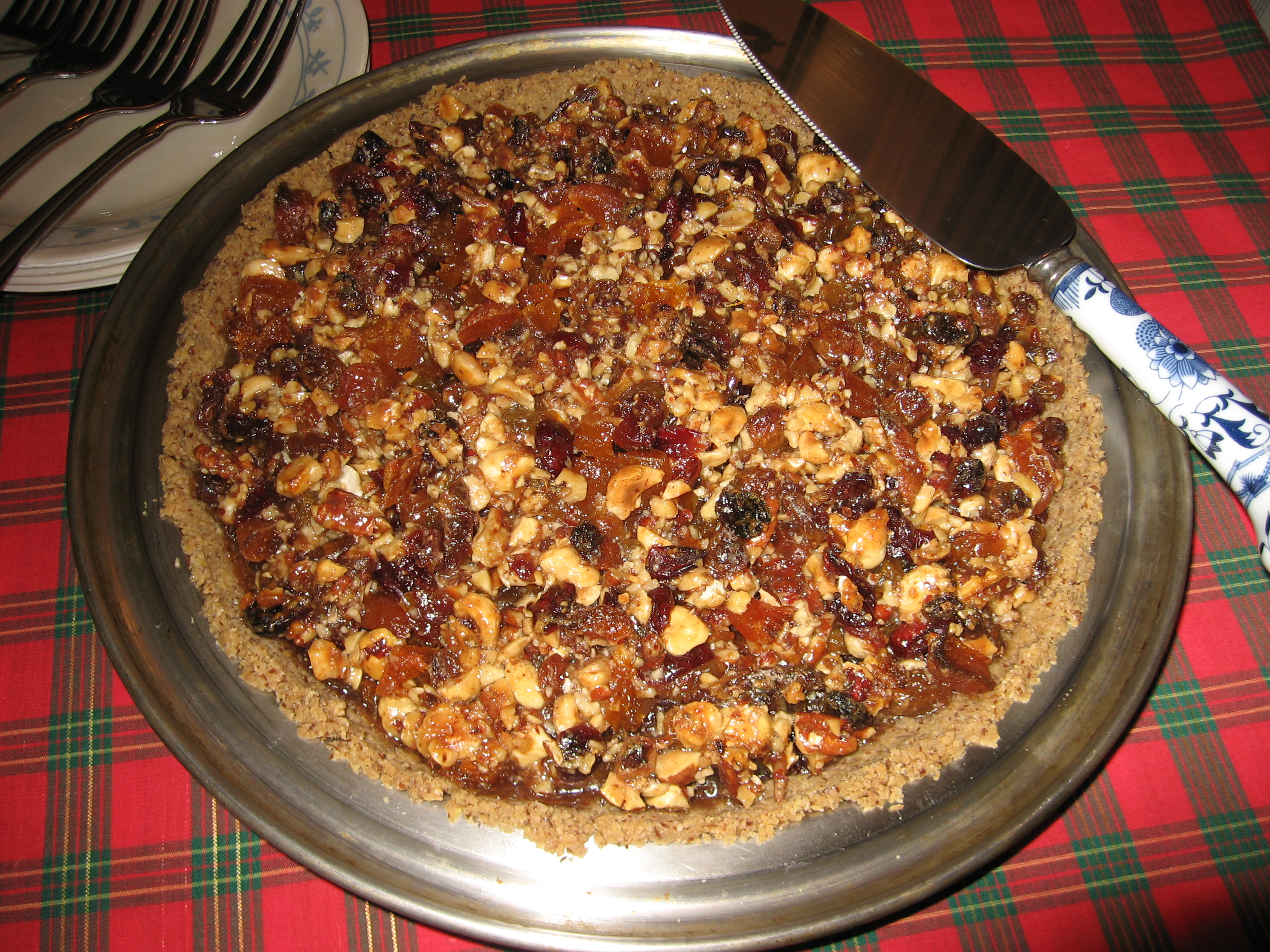 Maple-Hazelnut Pie Recipe — Dishmaps