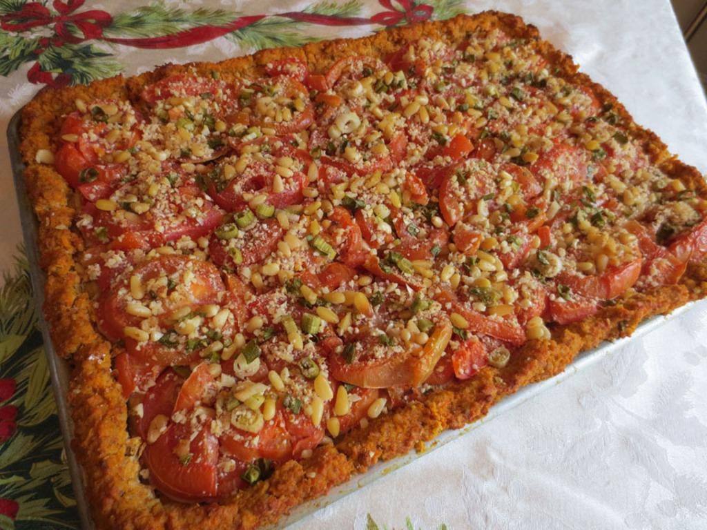 Tomato Pine Nut Pie 1