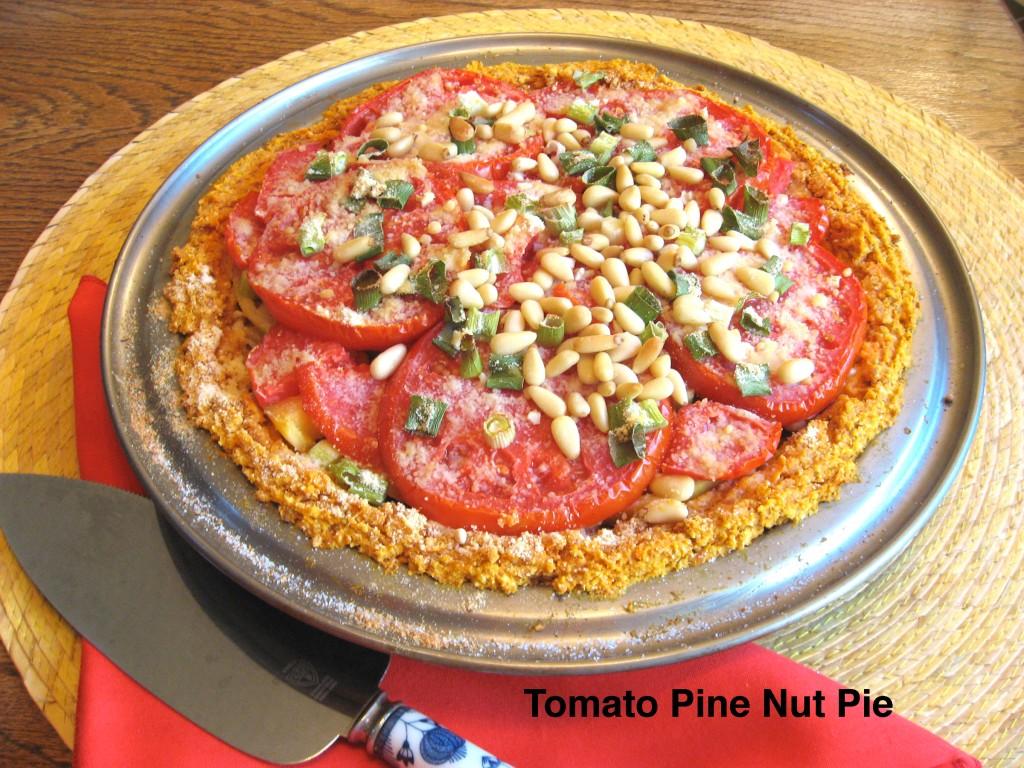 Tomato Pine Nut Pie
