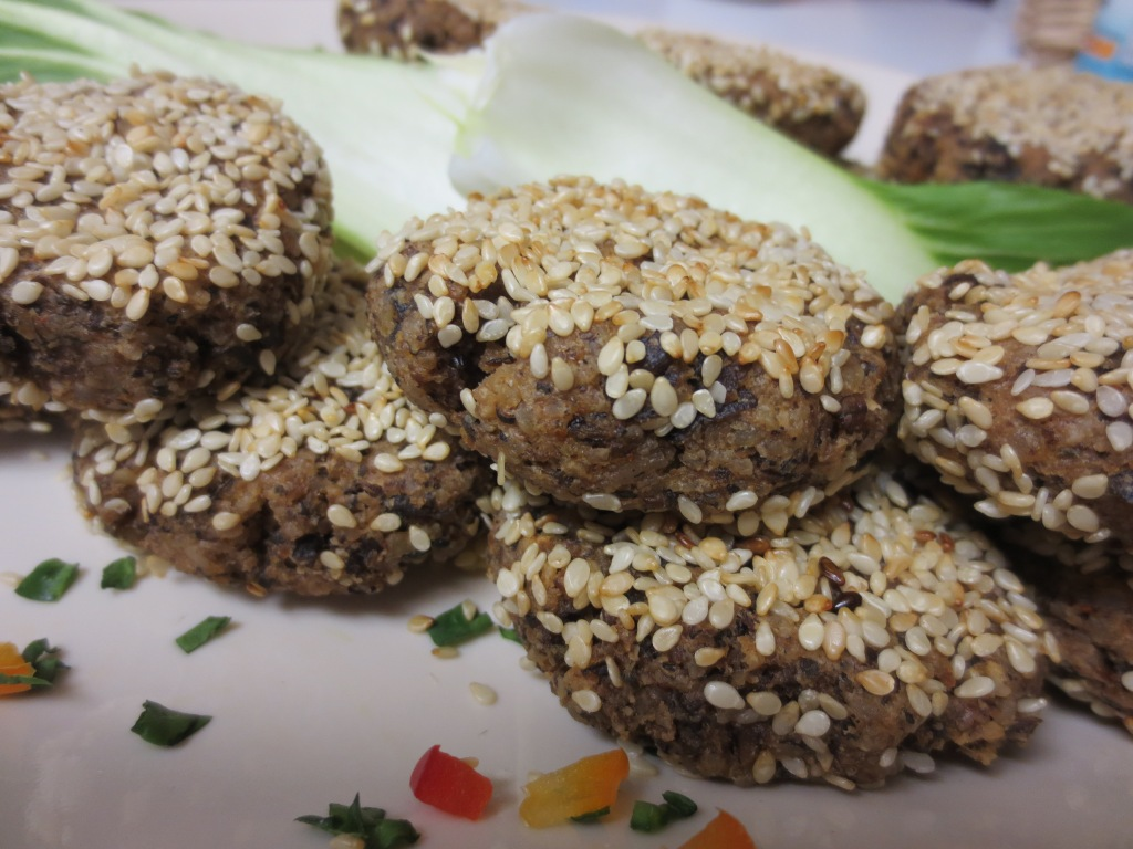 sesame nut patties