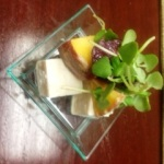 smoked tofu dijon stone fruits