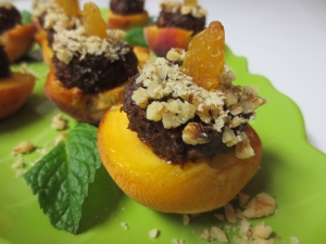 Stuffed Peaches
